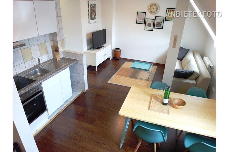 Zeitlos möblierte Wohnung in Köln-Neustadt-Süd