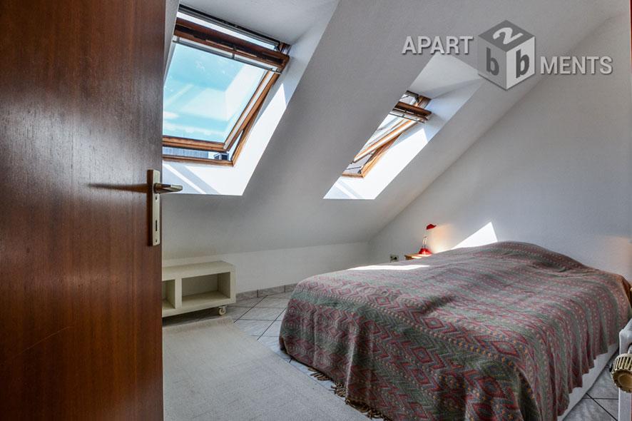 Zeitlos möblierte Wohnung in Köln-Altstadt-Nord nahe Neumarkt