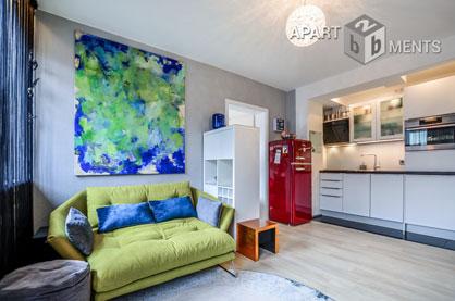 Hochwertig möblierte und zentral gelegenes Apartment in Köln-Neustadt-Süd
