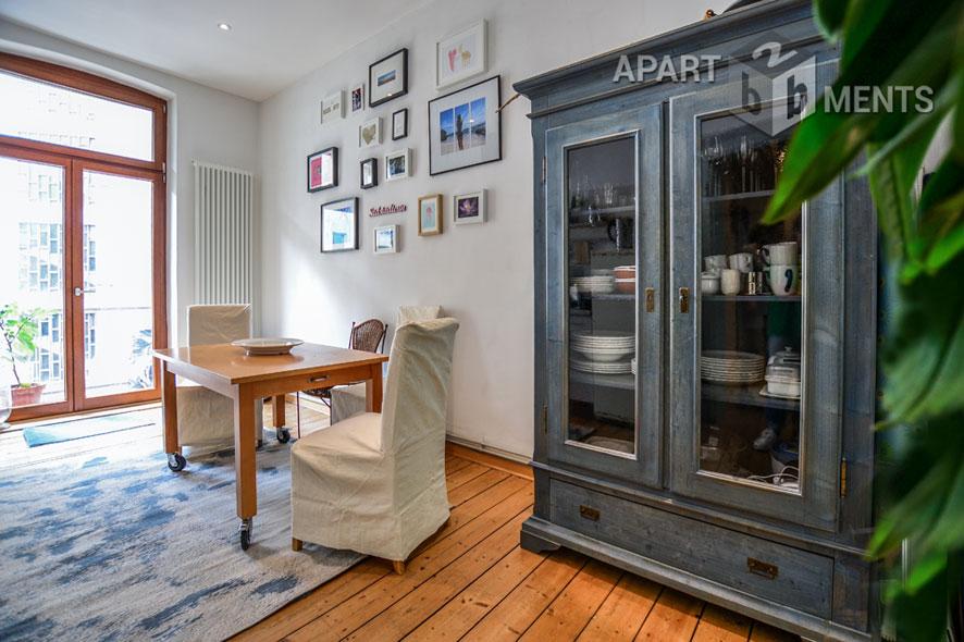 Stilvoll möblierte Wohnung in Köln-Altstadt-Süd
