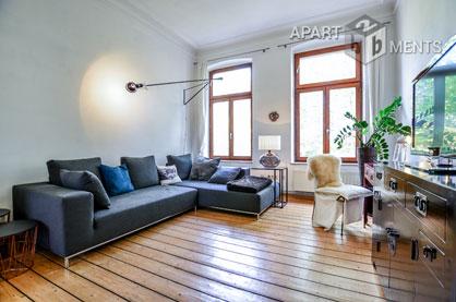 Stilvoll möblierte 2-Zimmer-Wohnung in Köln-Altstadt-Süd