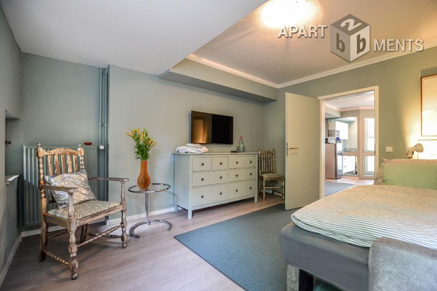 Modern möblierte Souterrainwohnung in Köln-Braunsfeld