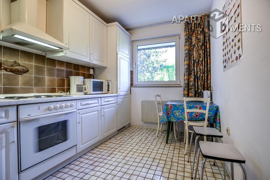 Stilvoll möblierte Wohnung mit Komplettausstattung in Köln-Junkersdorf