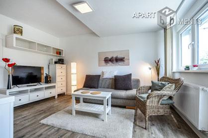 Modern möblierte Wohnung in 3-Familienhaus in Köln-Flittard