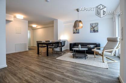 Möbliertes Apartment in bester Citylage mit Terrasse in Köln Neustadt-Nord