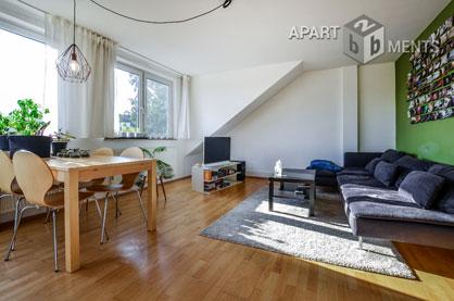Modern möblierte Wohnung mit Balkon in Köln-Neuehrenfeld