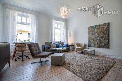 Modern möblierte Designer Wohnung in Köln Altstadt-Süd