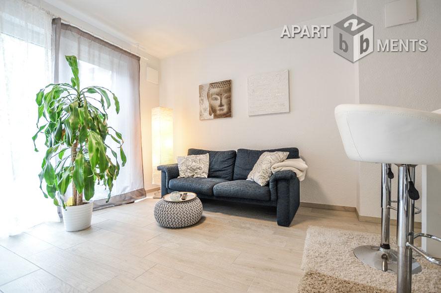Modern möblierte barrierefreie Wohnung in Köln-Mülheim