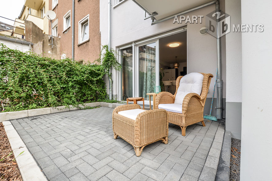 Modernly furnished apartment in Cologne-Deutz-Mülheim