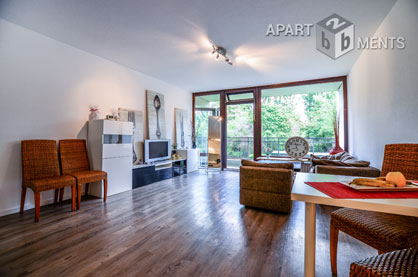 Furnished and spacious apartment in a quiet location in Cologne-Junkersdorf