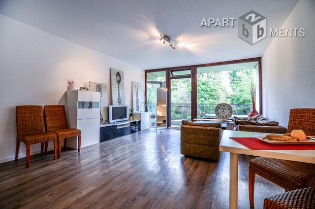 Möblierte und geräumige Wohnung in ruhiger Lage in Köln-Junkersdorf