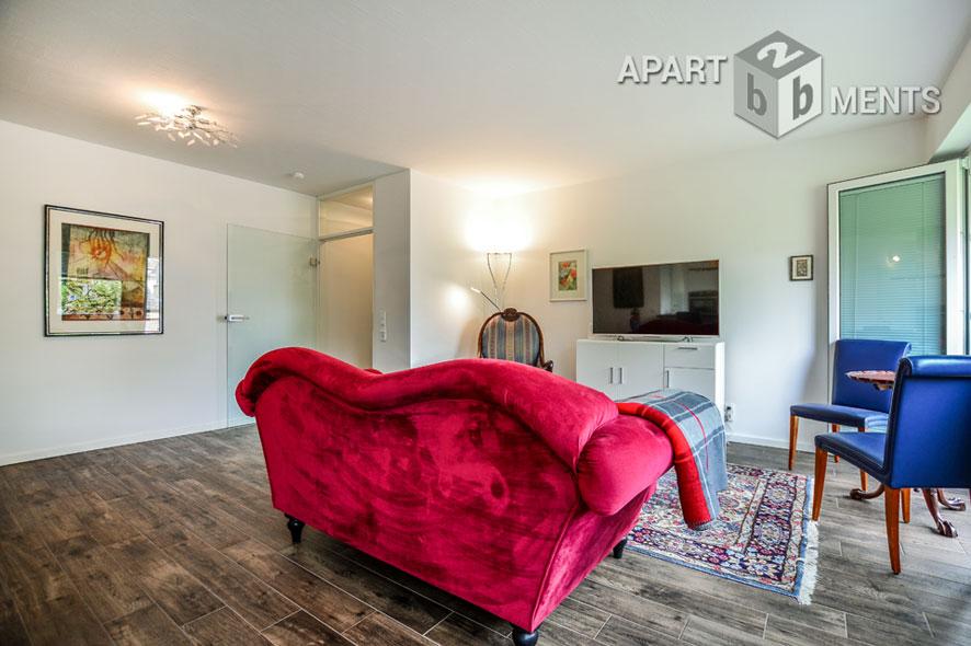 Exklusiv möblierte Wohnung mit Designelementen in Köln-Altstadt-Nord