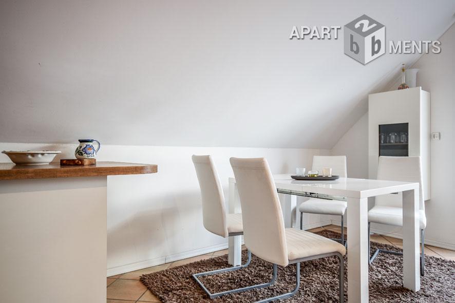 Modern möbliertes Apartment mit Balkon in Köln-Lövenich