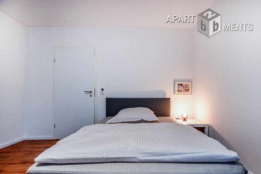 Möblierte Wohnung mit 2 Schlafzimmern in Köln-Deutz