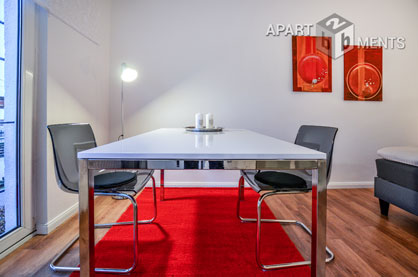 Furnished apartment with 2 bedrooms in Cologne-Deutz