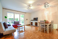 Modern furnished maisonette apartment with terrace in Cologne-Ehrenfeld