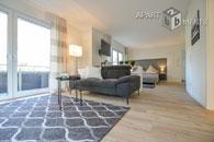 Modern und individuell möbliertes Apartment mit Balkon in Bergisch Gladbach-Bensberg - ERSTBEZUG