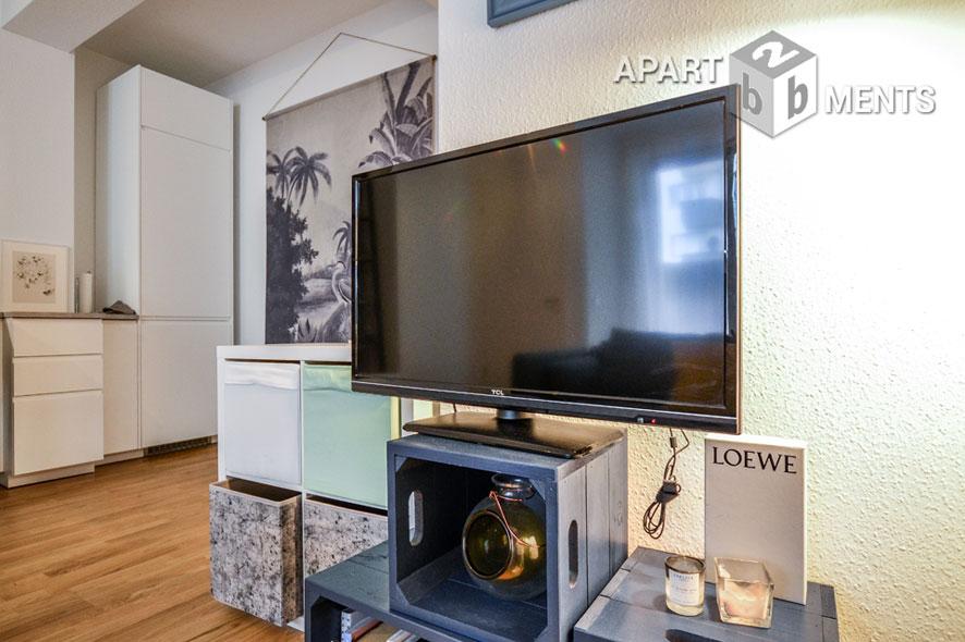 Modern möbliertes Apartment in bester Citylage in Köln-Altstadt-Süd
