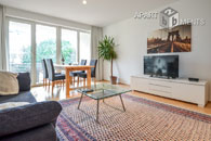 Modernly furnished and centrally located apartment in Cologne-Müngersdorf