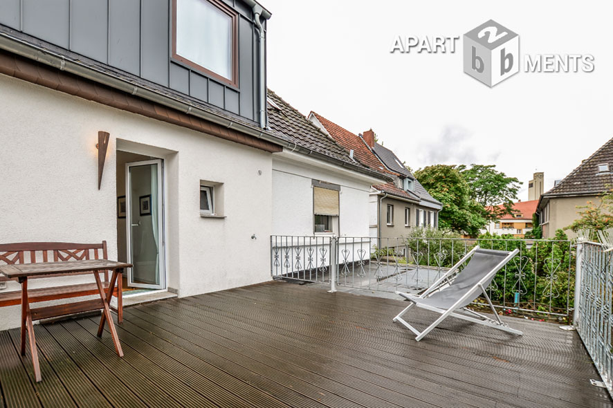 High quality furnished and quietly located room in Cologne-Bickendorf