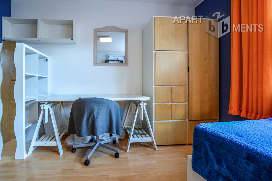 Furnished apartment in an apartment house in Cologne-Junkersdorf