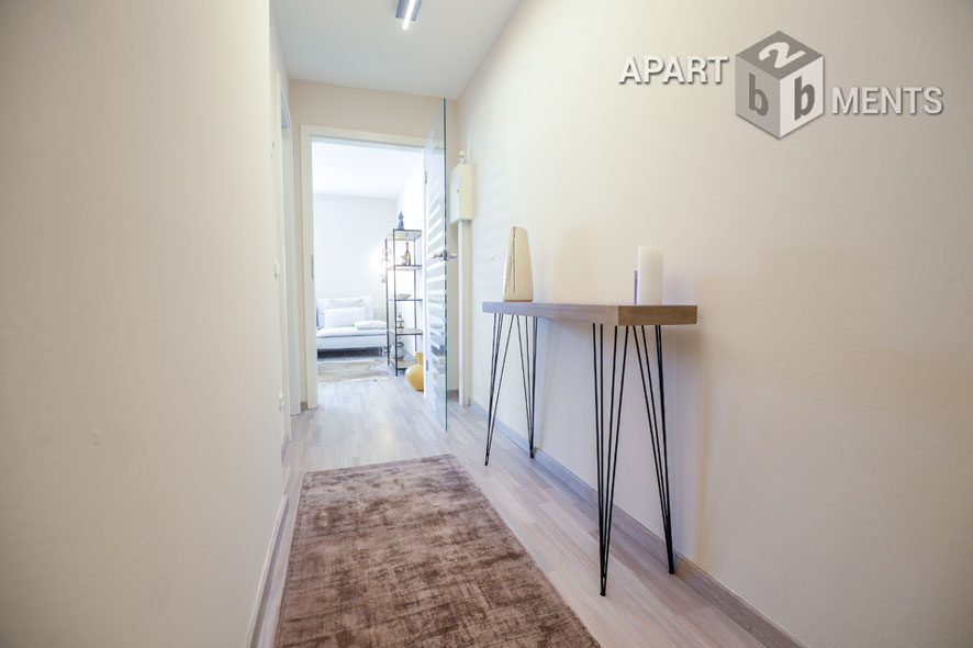 Furnished maisonette apartment with terrace in Cologne-Widdersdorf