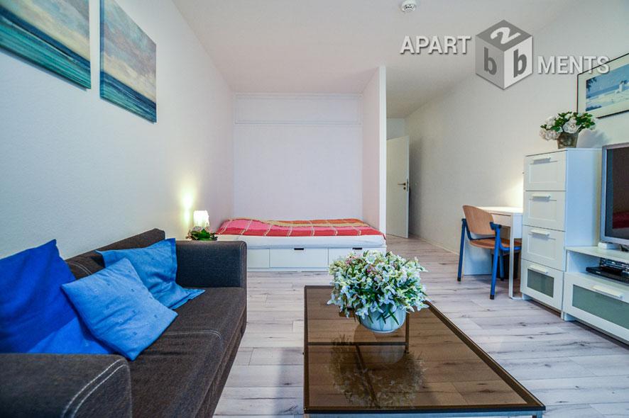 Modern möblierte und ruhig gelegene Wohnung in Köln-Humboldt-Gremberg