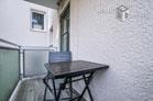 Hochwertig möblierte Wohnung mit Balkon in Köln-Lindenthal