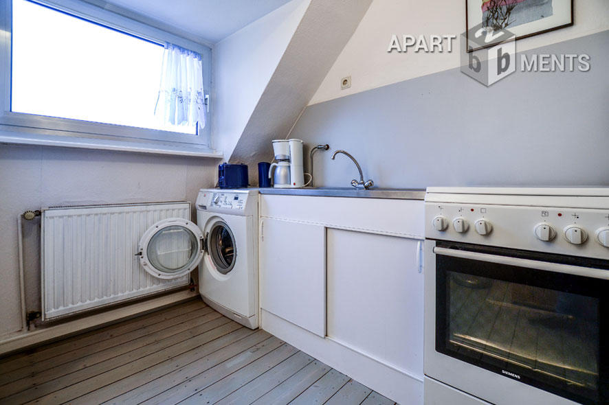 Furnished apartment in Cologne-Raderberg