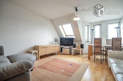 Möblierte Wohnung mit Balkon in Köln-Neustadt-Süd