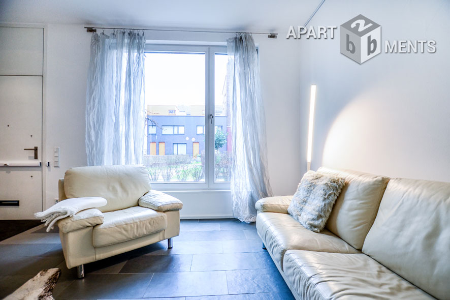Exclusive and modern furnished house in Cologne-Neustadt-Süd