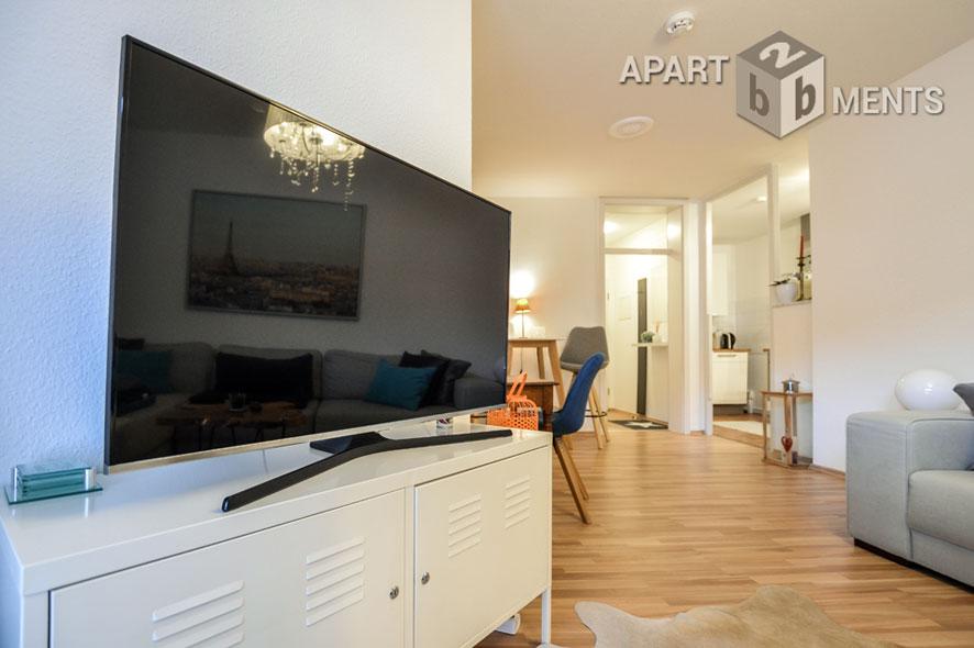 möbliertes Apartment mit Balkon in Köln-Junkersdorf