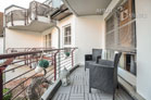 furnished apartment with balcony in Cologne-Junkersdorf
