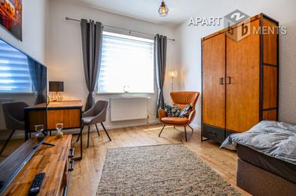 Modern möblierte Wohnung mit Gartennutzung in Köln-Dellbrück