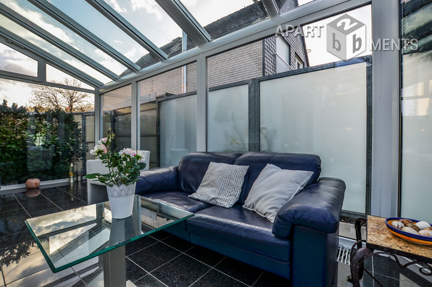 Hochwertig möbliertes Haus mit Garten in ruhiger Lage in Frechen-Königsdorf