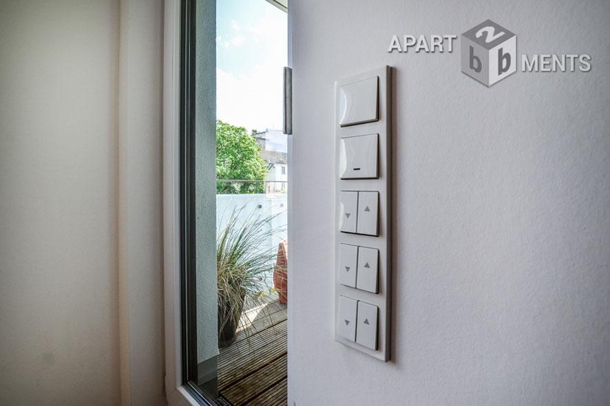 Stilvoll möblierte Wohnung mit 2 Balkonen in Köln-Neustadt-Süd