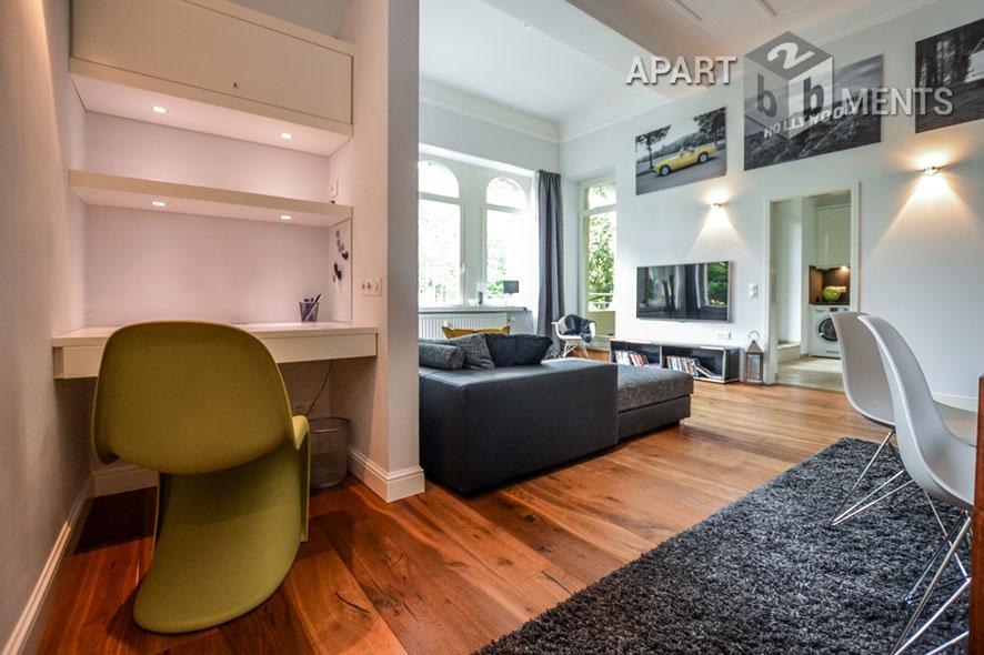 Exklusiv möblierte Wohnung mit Loggia in Köln-Marienburg