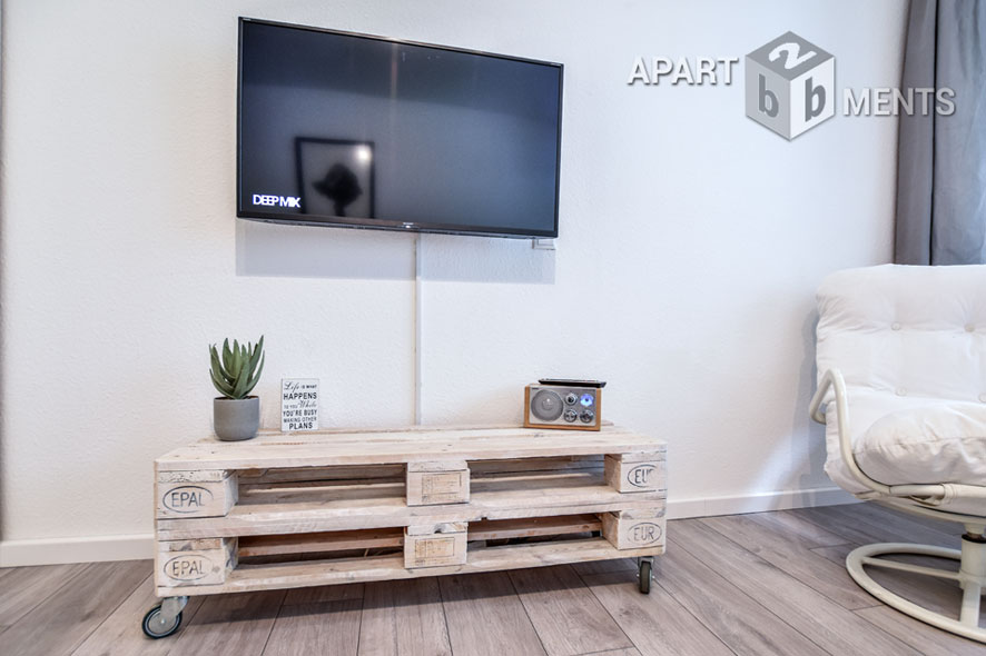 Furnished apartment in central location in Cologne-Neustadt-Süd