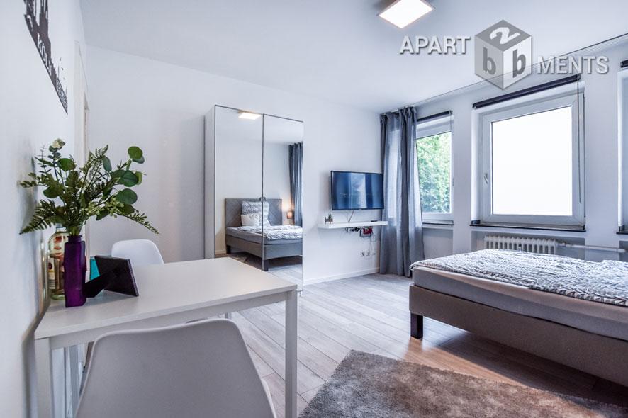 Möbliertes Apartment in zentraler Lage in Köln-Altstadt-Süd