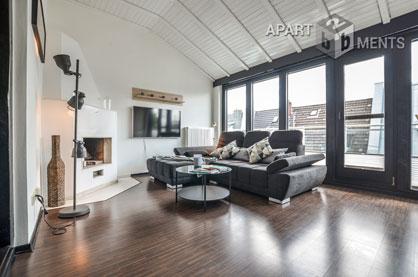 Modern möblierte in bester Citylage mit großer Dachterrasse in Köln Atstadt-Nord