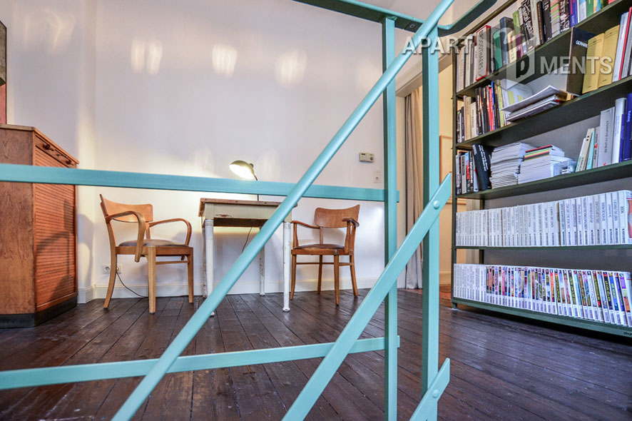 Furnished apartment on 2 levels in Köln-Nippes