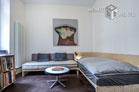 Möblierte Wohnung auf 2 Ebenen in Köln-Nippes
