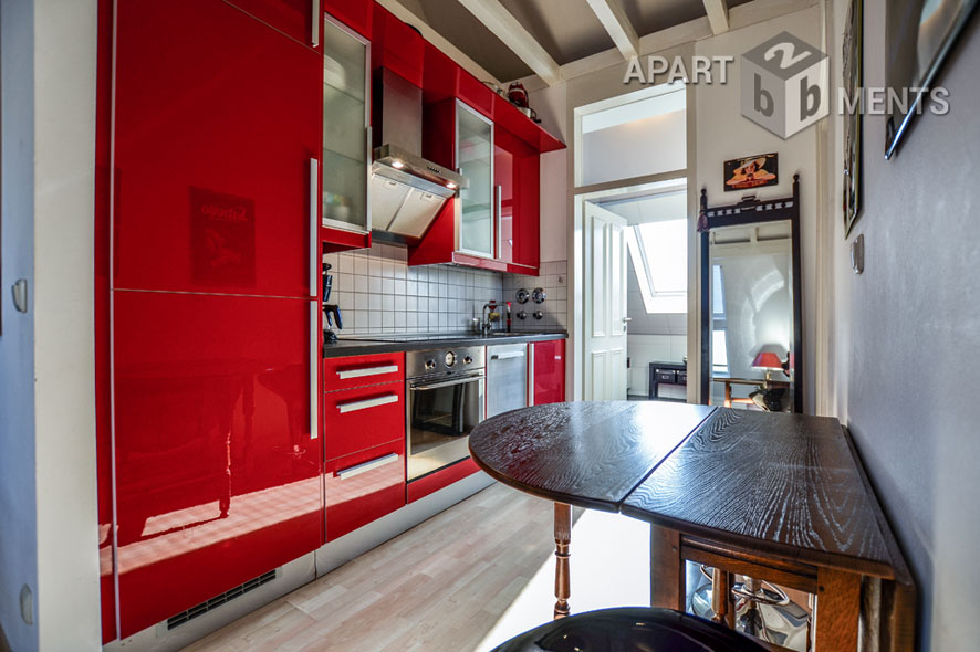 Möblierte Wohnung in einer historischen Wohnanlage in Köln-Worringen