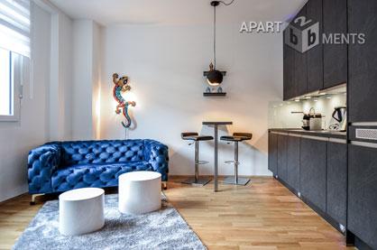 Modern furnished flat in Cologne-Deutz