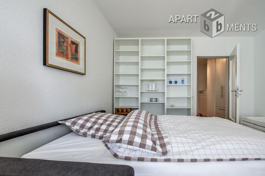 Möblierte Singlewohnung mit Balkon in Köln-Nippes