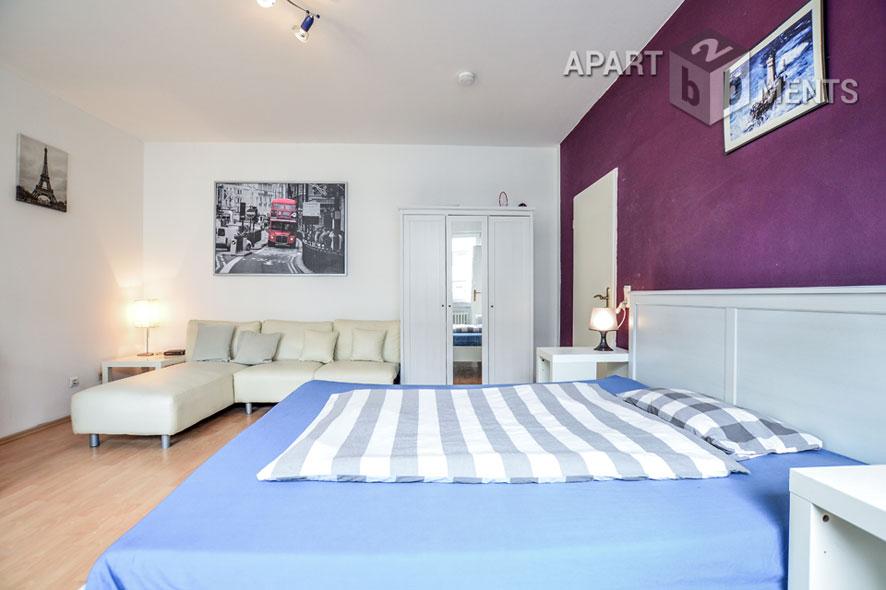 Möbliertes und helles Apartment in Köln-Neustadt-Nord
