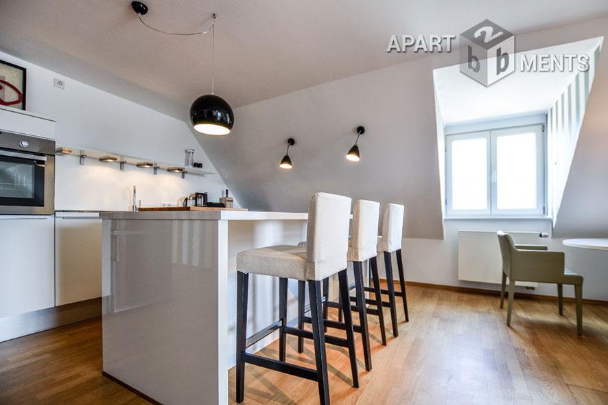 Möblierte Luxus-Wohnung mit 2 Schlafzimmern in Köln-Neustadt-Nord