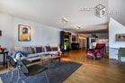 Furnished luxury apartment with 2 bedrooms in Cologne-Neustadt-North
