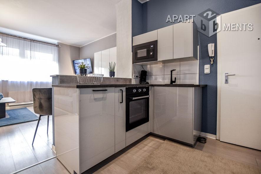 Modern möbliertes Apartment in Köln-Nippes - Erstbezug nach Renovierung 2021