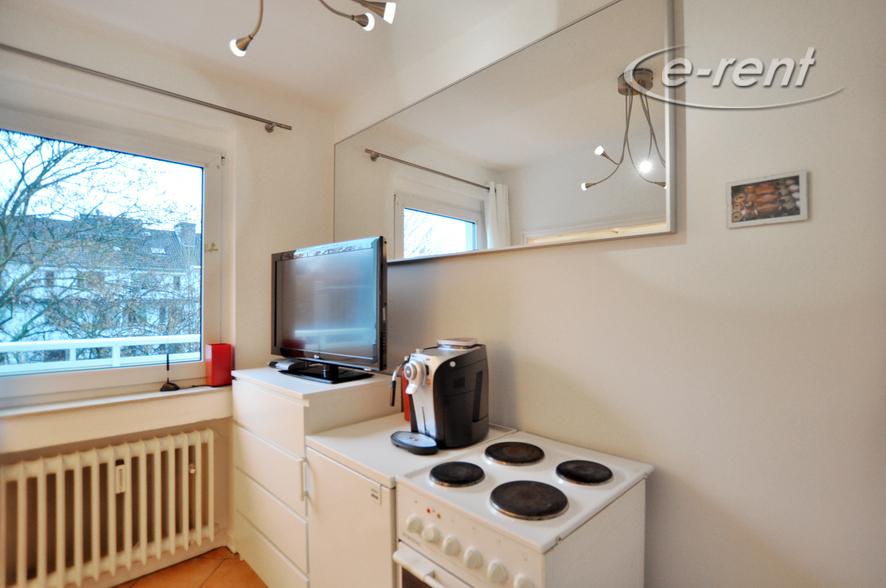 Modern möbliertes und zentral gelegenes Apartment in Düsseldorf-Düsseltal